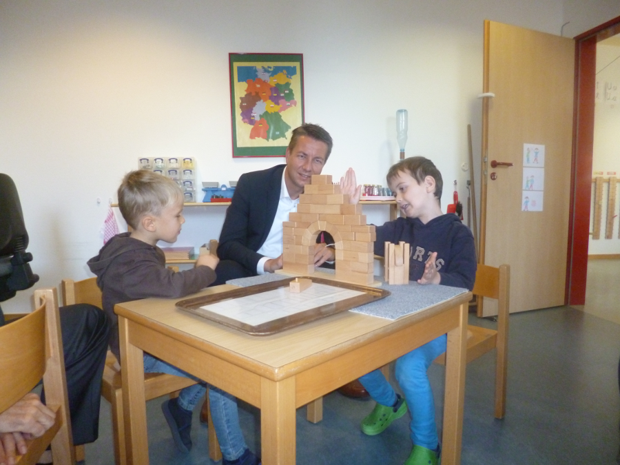 Besuch im Haus der kleinen Forscher