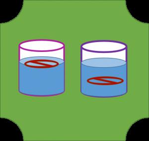 Symbol VM Schwimmen Sinken