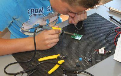 Schülerlabor Elektrotechnik – Einstieg jederzeit möglich